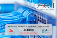 Low Voltage and Data Wiring Contractor 403.400.3436