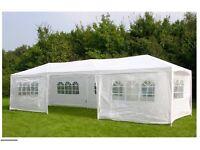 9m x 3m gazebo-wedding bbq garden shelter