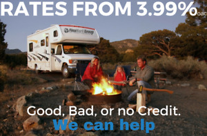 Get your financing in place BEFORE the RV Show. Shop Anywhere!