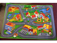 Brand new child's road rug