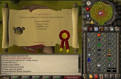 Any Quest Service Guide Runescape Osrs  1 Trusted Rs Seller On Ebay