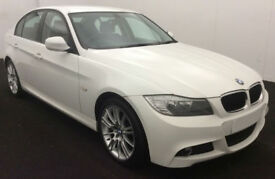 White BMW 318d Manual Performance Edition 2012 FROM £31 PER WEEK!