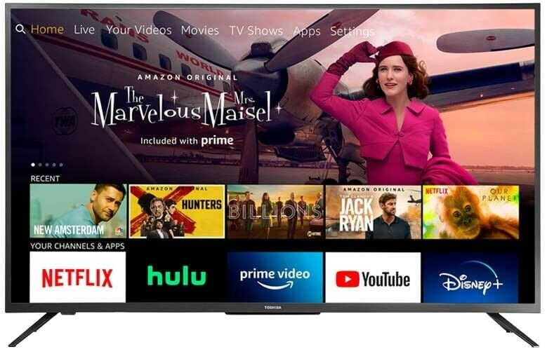 All-New Toshiba 43LF621U21 43-inch Smart 4K UHD with Dolby Vision - Fire TV Edit