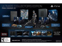 Final Fantasy XV Ultimate Collector's Edition - PS4 - SEALED IN ORIGINAL PACKAGING