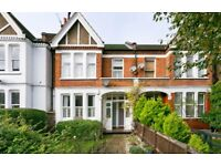 3 bed Edwardian Maisonette with front and back gardens
