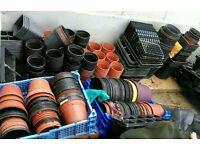 Over 45 plant pots plus hanging baskets flower planter bundle bargain