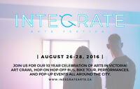Volunteer at the 10th Annual Integrate Arts Festival