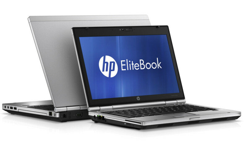 HP Elitebook 2560p Intel i5 2.5GHz 4GB 320GB HDD 1366x768 WebCam BT Win 10/7 Pro