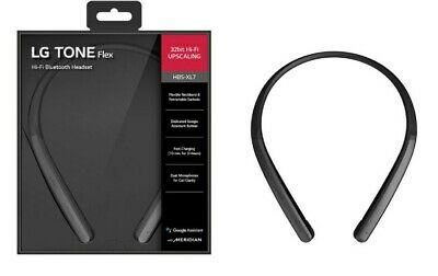 LG Tone Flex HBS-XL7 Neckband Bluetooth Wireless Stereo Headphones - Black