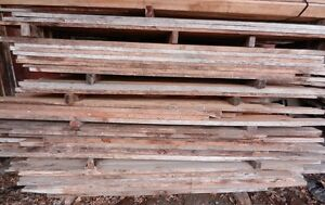 Lumber of Various Species for Sale