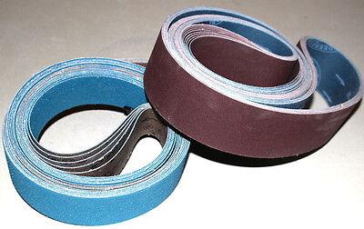 2 x 72 Sanding Belt Knifemaker Variety Pack  AZ & AO Flex (16pcs)  #3