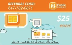 Public Mobile $85.00 off with an additional 500MB of FREE Data