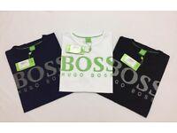 Hugo Boss Mens Crew Neck T-shirts Wholesale Only Different Designs Ralph Lauren Lacoste Calvin Klien
