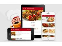 TAKEAWAY & RESTAURANT APP DEVELOPER DESIGNER IPHONE ANDROID MOBILE APP ONLINE MARKETING SEO VIDEOS