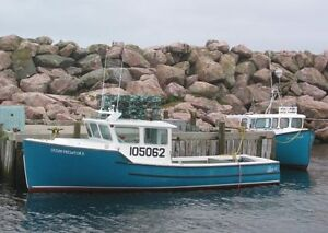 Cape Island Boat 26' to 30', fibreglas with Diesel Engine