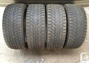 225/55R19 Toyo A23 Set of 4 Used allseason tires 80%tread left Free Installation and Balance