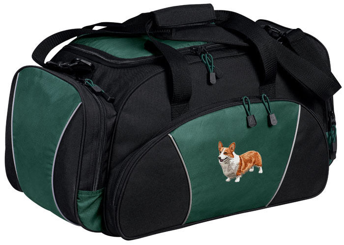 Corgi Embroidered Duffel Bag