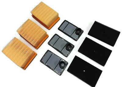 Pz Air Filter Fits Stihl Ts400 Cutoff Saws 3 Pack