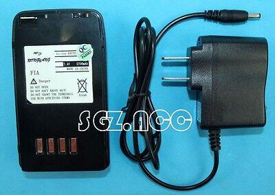 Fnb 47 Fnb47 Li Ion Battery Pack  Charger For Yaesu Vertex Radio Ft 40R Ft 50R