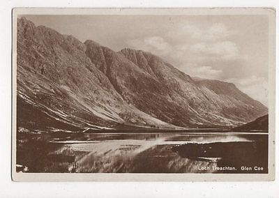 Loch Treachtan Glen Coe RP Postcard  217a