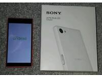 Sony Xperia Z5 Compact Smart Phone - Coral/Pink - EE