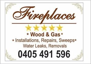 Fireplace services, wood & gas, all aspects, 25 years in building Adamstown Newcastle Area Preview