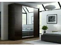 BRAND NEW Two Sliding Doors Wardrobe with Mirror