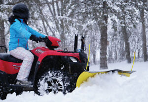 Eagle ATV Snow Plow Kit on Sale. 150$ Rebate!
