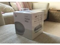 Google Home Mini Hands-Free Smart Speaker, Chalk (New & in box)