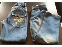 Boys jeans age 8-9