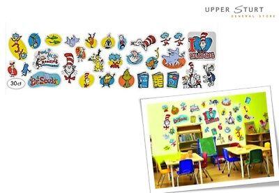 Dr. Seuss Cardboard Cutout Decorations Value Pk 30 Piece Party Supplies](Dr Seuss Cardboard Cutouts)