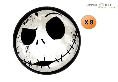 Nightmare Before Christmas Dessert Plates 8 Pack Party Supplies NBX ()