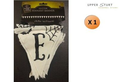 Nightmare Before Christmas Glitter Pennant Banner 4.4mtrs Party Supplies NBX ()