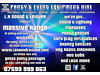 Event & Entertainment equipment hire - Bouncy Castles, Hot Tub, Disco, Marquees, Photo Booth + more Verwood