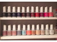 Collection of IBD Just Gel Polish incl 22 colours + Bonder, Base, Top & Matte top