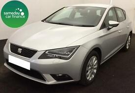 £152.36 PER MONTH SILVER 2013 SEAT LEON 1.6 TDI SE 5 DOOR DIESEL MANUAL