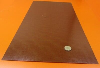 "BROWN PHENOLIC FLAT STOCK machinable micarta sheet bar plate 1//32/"" x 6/"" x 14 1//2"