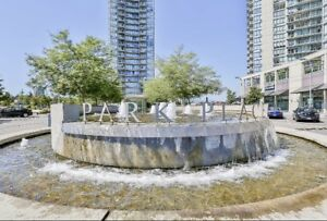 2 bedrooms, 2 bathrooms high rise condo for rent