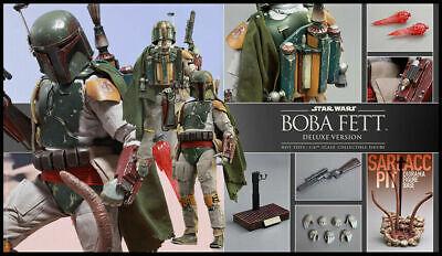 HOT TOYS BOBA FETT (deluxe) Star Wars MMS 313 Return of the Jedi