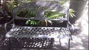 Tree of life cast iron bench seat chair Beechboro Swan Area Preview