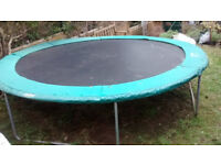 Trampoline 14ft - 'Supertramp' Good condition