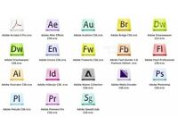 ADOBE MASTER COLLECTION CREATIVE SUITE 6 - PC or MAC...