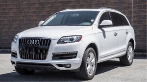 2013 Audi Q7 white / progressive / QUATTRO 7seat