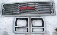 90's GMC Van, Front Grille & Two Headlight Doors