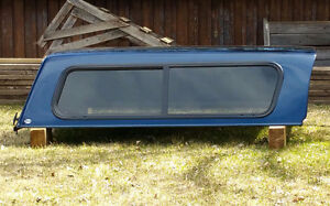 Blue Canopy Topper for Small Truck / Smoky Lake