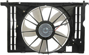 Fan / Radiateur Assemble Toyota 2009 - 2013 Corolla Matrix Vibe