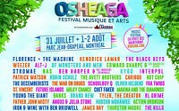 Discounted Osheaga Tickets!