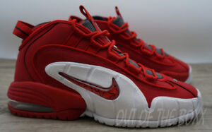 NIKE AIR MAX PENNY 1 - UNIVERSITY RED - SIZE 9