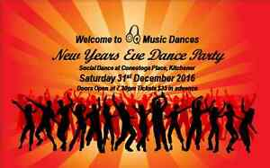 Q Music New Years Eve Dance Party at Conestoga Place Kitchener / Waterloo Kitchener Area image 1