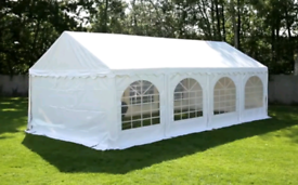 NEW PVC Heavy Duty 4m x 8m - Beige - Gazebo Marquee Canopy - £550 each